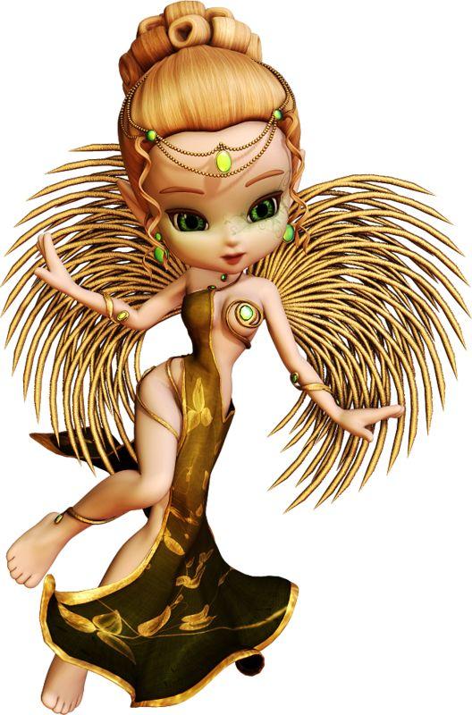 dolls, fairy, elf, witches