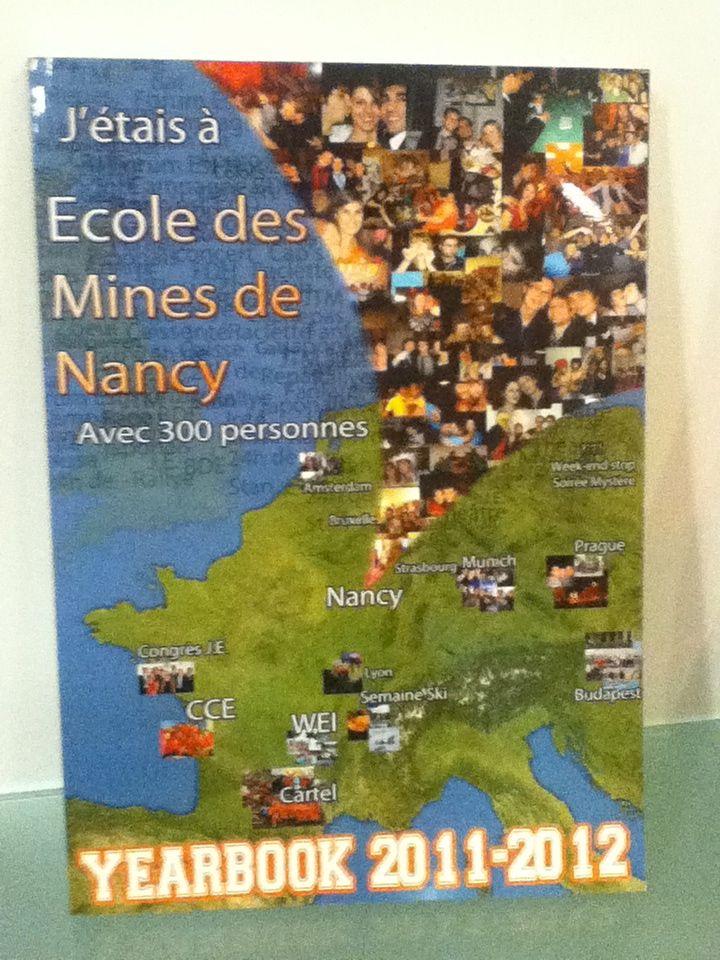 Yearbook Ecole des Mines de Nancy 2011-2012