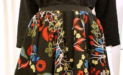 DIY : Coudre une jupe cercle sans patron ! - couture tuto, couture facile pour débutant
