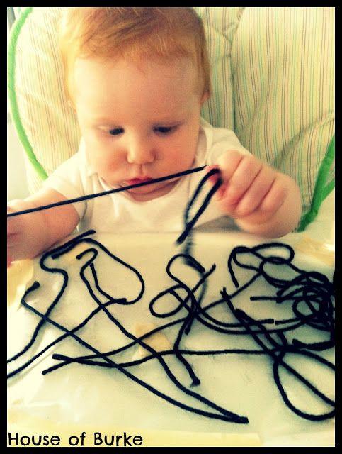 House of Burke: Baby-School: Exploring Spiders