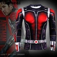 """ANT MAN Superman Compression Shirt Men Long Sleeve di Pria pada Jajan AJa """" Promosikan produk andalanmu di sini """""""