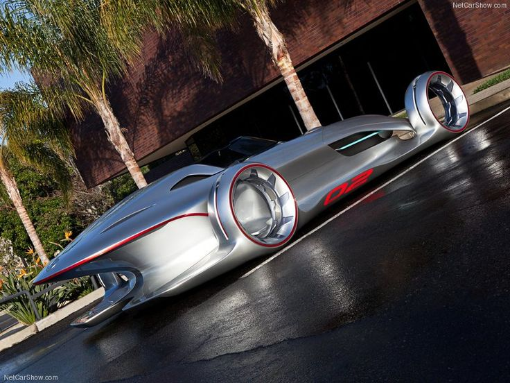 2011 Mercedes Silver Arrow Concept - via Net Car Show - pin by Alpine Concours.. WTF something from batman