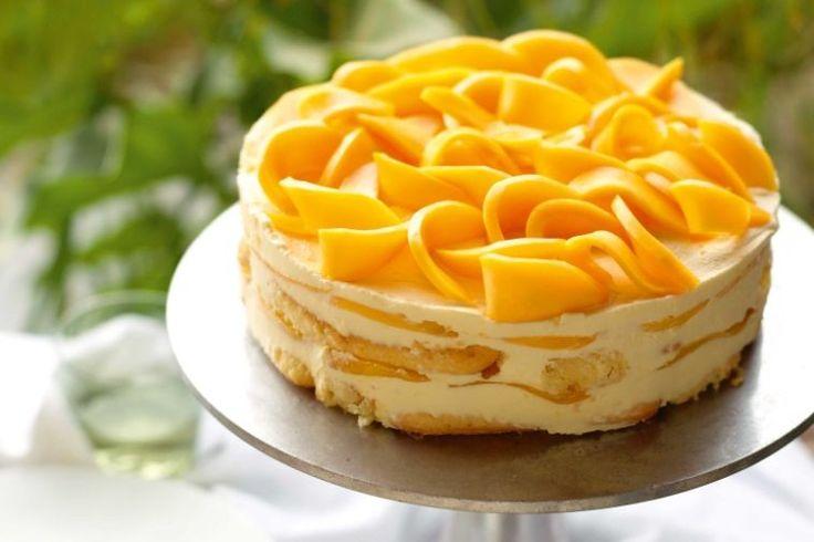 Our most popular dessert ever: 'mangomisu' (aka, mango tiramisu) - delicious.