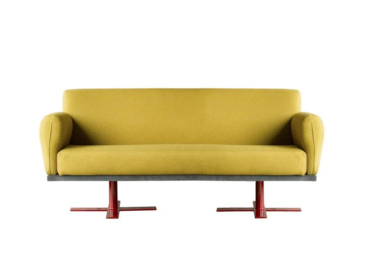 VIWO sofa || From birth, man carries the weight of gravity on his shoulders. He is bolted to earth. But man has only to sink beneath the surface and he is free. ~ Jacques Yves Cousteau