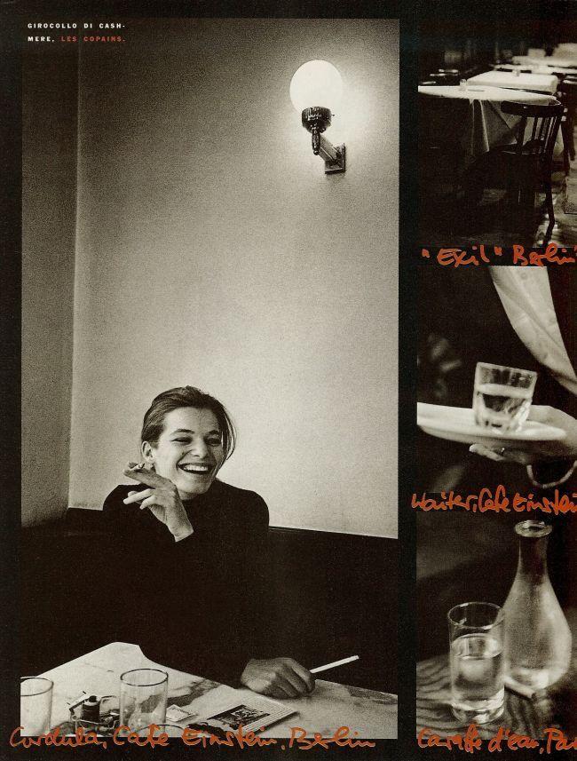 Vogue IT - Berlin Paris - Cordula Reyer - Apr 1989
