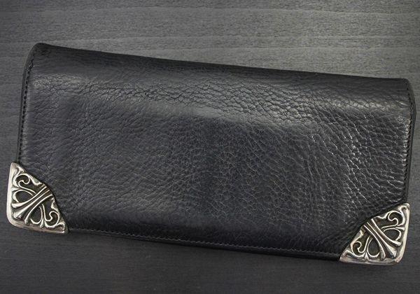 クロムハーツ 財布 コピー シングル フォールド/ロングウォレット/長札入れ Chromehearts 008