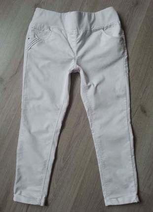 Těhotenské tříčtvrteční bílé kalhoty zn.Calin Kalin vel.40