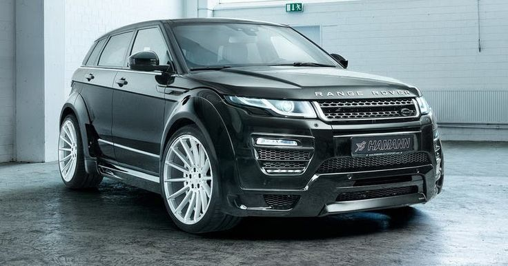 Hamann Shows Off 2017 RR Evoque Widebody Kit [w/Video] #Hamann #Range_Rover