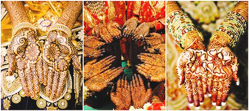 Wedding edits: Indian/Sikh/Muslim brides + mehndi