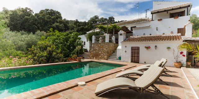 Check out Casa Rural Finca Las Encinas, Iznajar, Spain. A #relaxing and #serene atmosphere.  http://bit.ly/2lBmmuO  #charming #small #hotels #hotelstay #spain #pool #outdoorpool #charmingtravel #travel #trips #holidays #spanishholidays #poolside #explorespain #travelspain