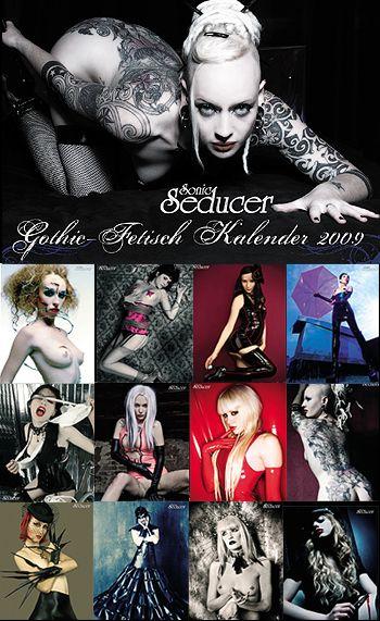 Kalender : Gothic Fetisch Kalender 2009