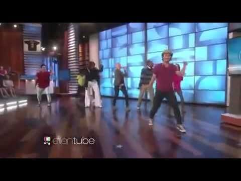 Michelle Obama dances to 'Uptown Funk' on the Ellen Show