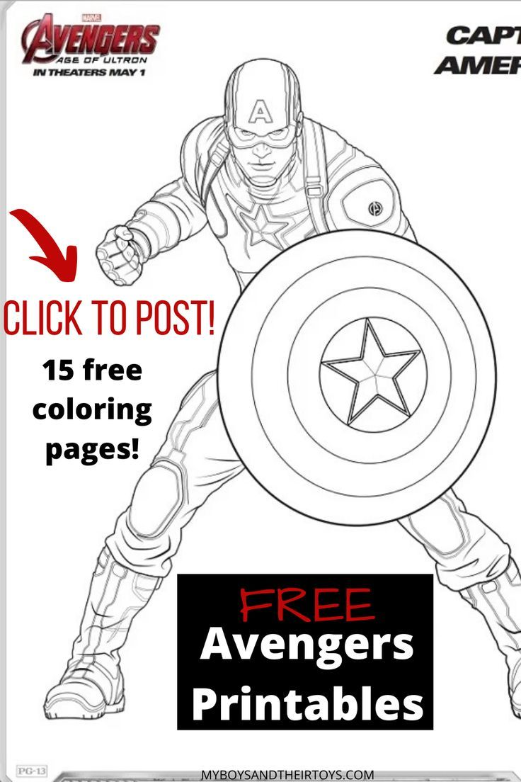 Avengers Age Of Ultron Coloring Sheets Trailer My Boys And Their Toys Avengers Coloring Pages Avengers Coloring Coloring Pages