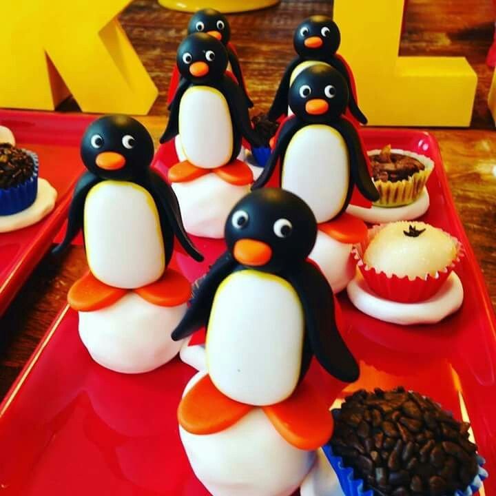Porta docinhos Pingu