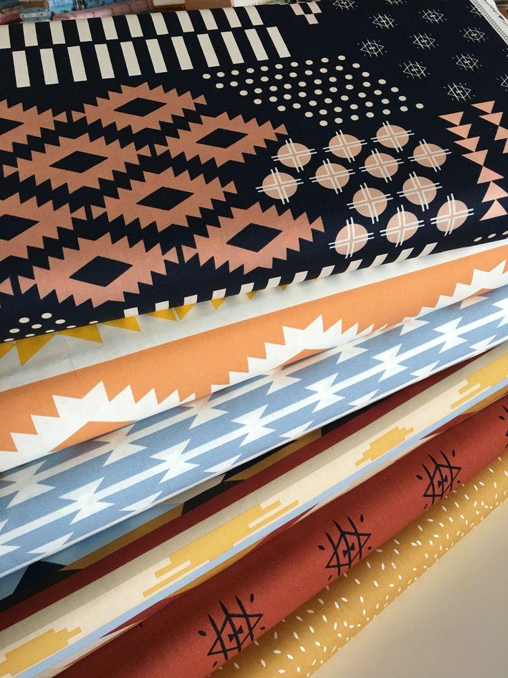 Arizona After fabric, Southwestern Aztec Fabric, Fabricshoppe fabric bundle, Art Gallery Fabrics, Minimalist decor, Boho Decor, Bundle of 6 by FabricShoppe on Etsy