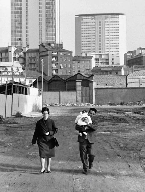 Pepi Merisio Emigranti Milano 1966