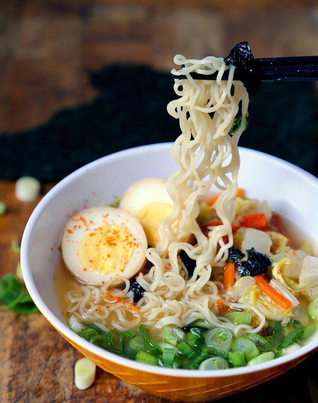 Miso Ramen Recipe - RecipeChart.com
