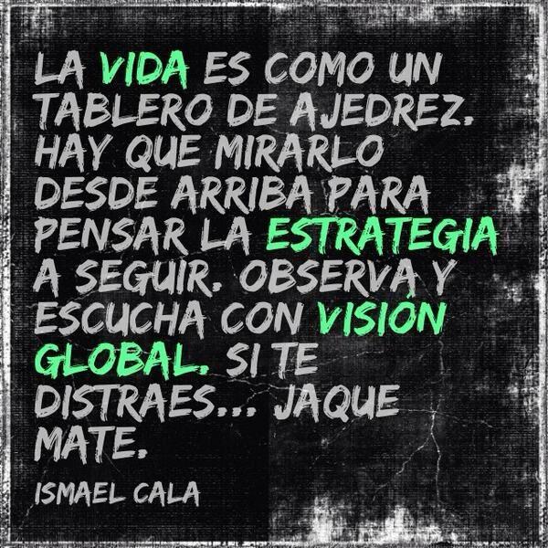 Frase de Ismael Cala
