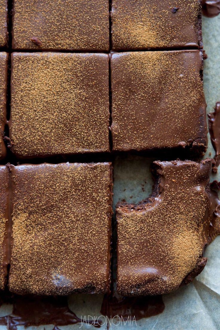 jadłonomia · roślinne przepisy: Bezglutenowe brownie z ciecierzycy