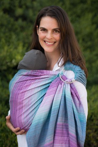 TULA Baby Carriers | Tula Aurora Kepler | Tula Woven Wrap Conversion Ring Sling
