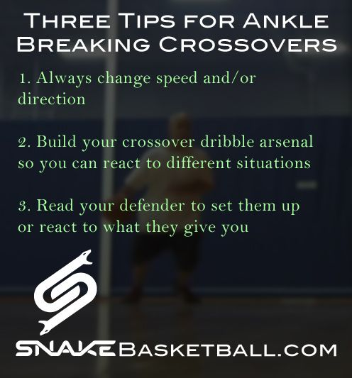 Three tips for ankle breaking crossovers #basketball