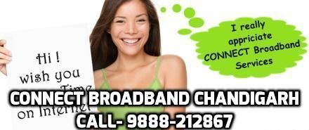 Now you can book your connect broadband connection in Chandigarh by giving a missed call on 9888212867. http://www.connectbroadband.co.in/