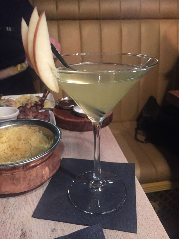 Perfect the Mitch Martini from Dabbawal Streetfood Restaurant Newcastle 🍸😊