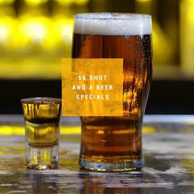 Drinking while poor...56 shot-and-a-beer specials in NYC for $7 or less