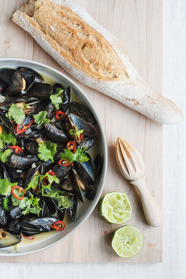 I have a soft spot in my stomach for shellfish and especially mussels. It might have started after our trip to Barcelona where we were served mussels at almost every meal and fell in love. I love t...