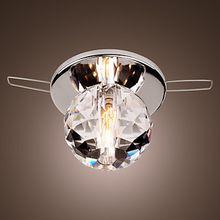 Bola de Cristal K9 Luz de techo Moderna LED Lámpara Lustre Flush Mount Envío Gratis(China (Mainland))