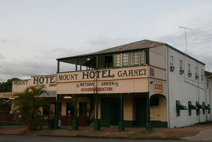 Mount Garnet Hotel Nth Queensland