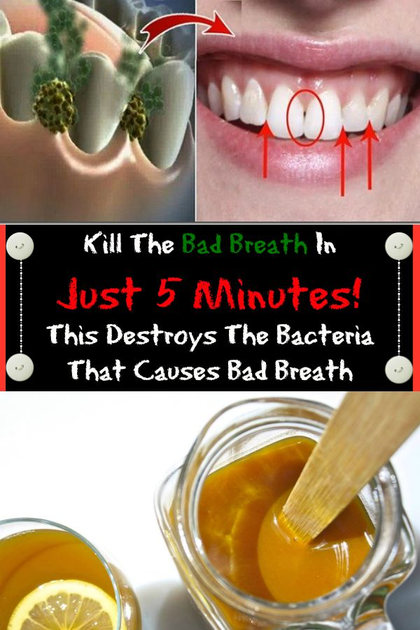Kill The Bad Breath In Just 5 Minutes! This Destroys The Bacteria That Causes Bad Breath