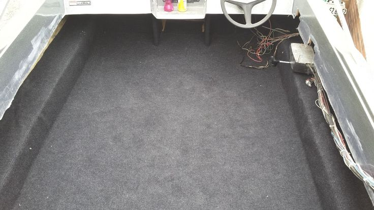 New floor and carpet done.