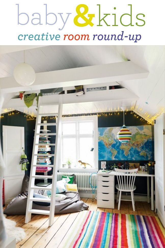 "I would like to do this in Sammi  Bailey's room. Vault the ceiling and put just their beds in the ""attic""."