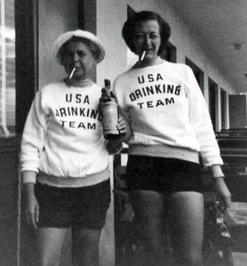 {USA Drinking Team} USA USA