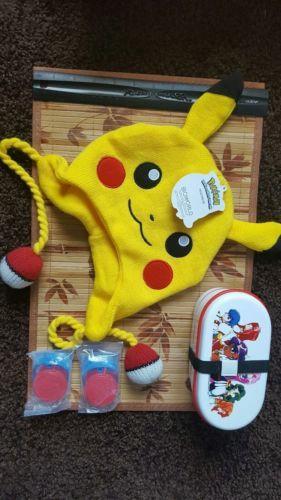 Anime manga Random characters goods Pokemon hat bento box spiderman squirters