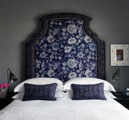 beautiful headboard - Dorset Square Hotel