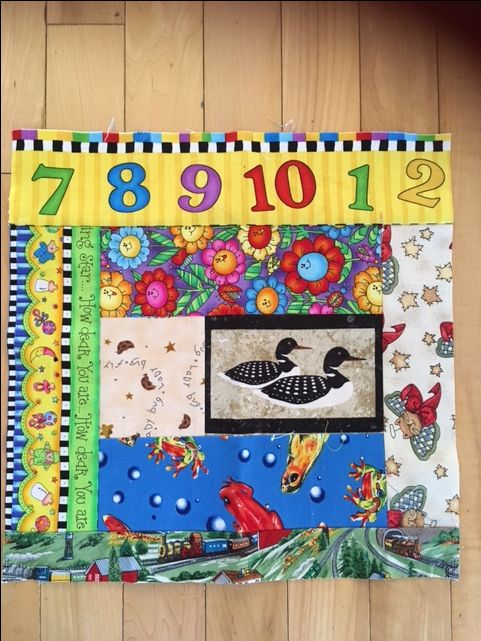 #bigquiltbee block to make 1,000 quilts for kids in care at Ronald McDonald Houses!