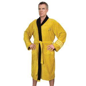 Captain Kirk Star Trek Bath Robe