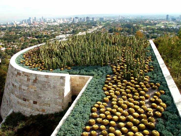 getty center garden - Google Search