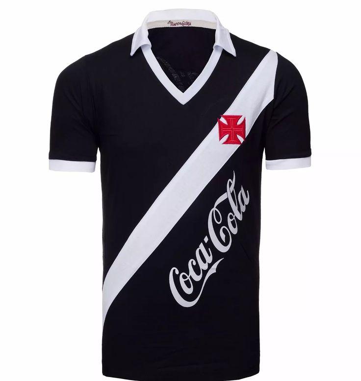 camisa retrô vasco 1989 - coca-cola