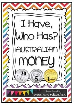 Freebie: A great tuning in game for years 1,2 and 3! Australian coins that promote the counting of collections, as stipulated in the Australian Curriculum.