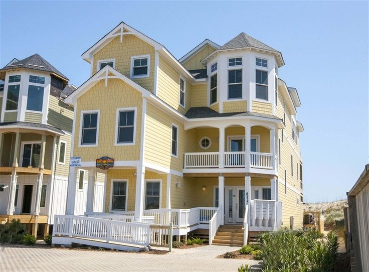 Nags Head Vacation Rental - VRBO 434940 - 8 BR Northern Coast & Outer Banks House in NC, Newly Built for 2013,Oceanfront 8BR,Nags Head, Elevator, Media Room...