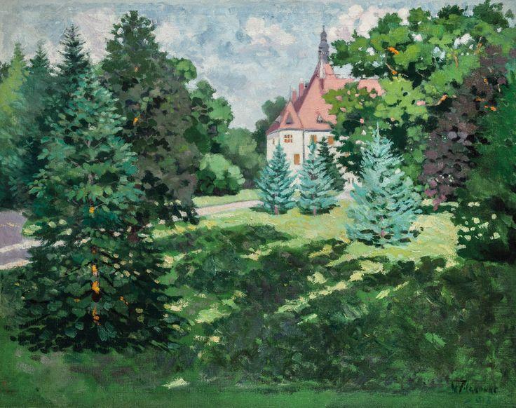 Aukció: 2016. december 14.: Filikovac, Vladimir; Kastélypark, 1912; olaj, vászon