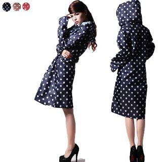 Latest Raincoat for Women 2015