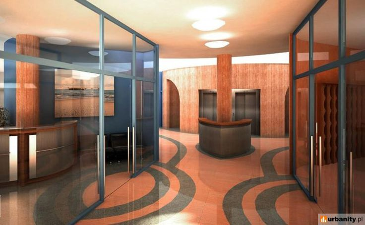 Centro per la Indikpol - Olkuska interni - Varsavia con l'architetto Kalina Eibl