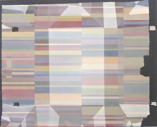 SIMONE ADELS | Notecards, 2002, Cell-vinyl paint on aluminum