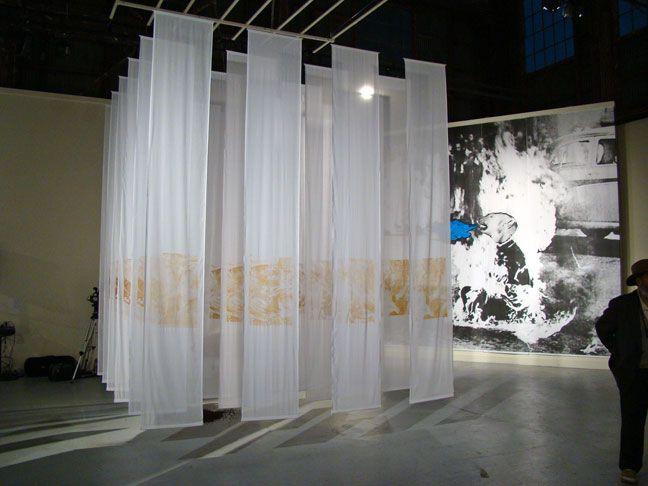 Hanging Installation Art By Tessie Barrera Scharaga