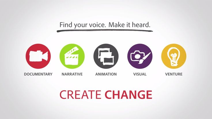 Adobe Youth Voices Awards 2015: Due April 2015