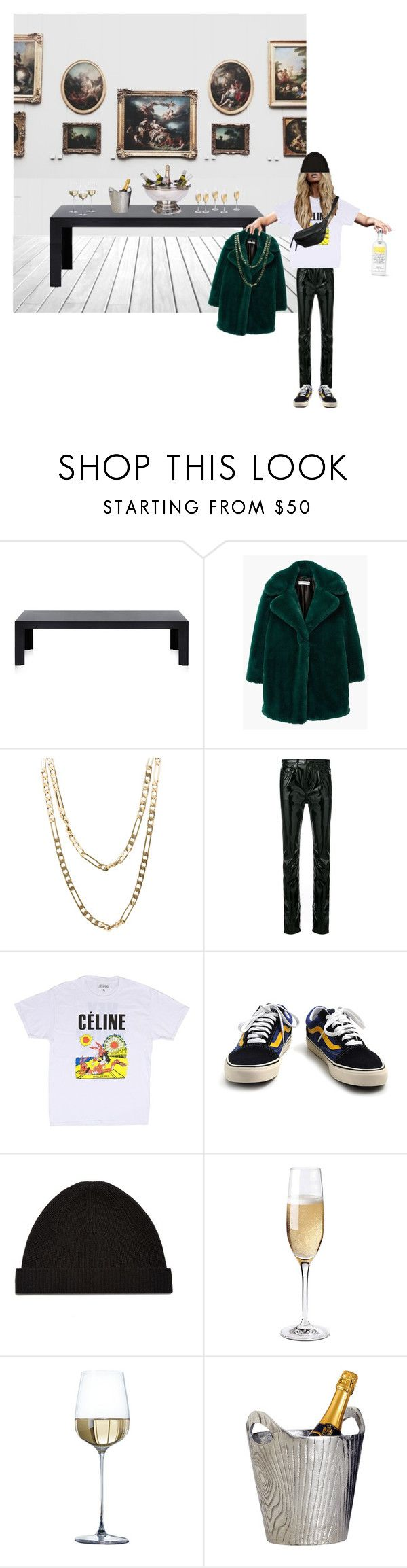"""Untitled #242"" by fashiondisguise on Polyvore featuring Kartell, MANGO, Cartier, Yves Saint Laurent, Yvonne Koné, Vans, Helmut Lang, Wine Enthusiast and Dot & Bo"
